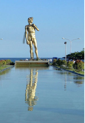 The Statue of David in Davao