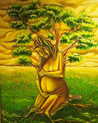The Tree Painting by Davao local artist